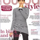 NEW Burda Magazine 01/2014 Uncut Folded Patterns US 2/4-24 (EUR 34-52) English