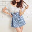 D1015 cute little striped dress