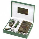 5 Piece Millitary Style Men's Gift Set