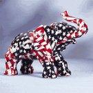 AMERICAN FLAG ELEPHANT