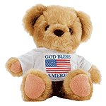 GOD BLESS AMERICA BEAR