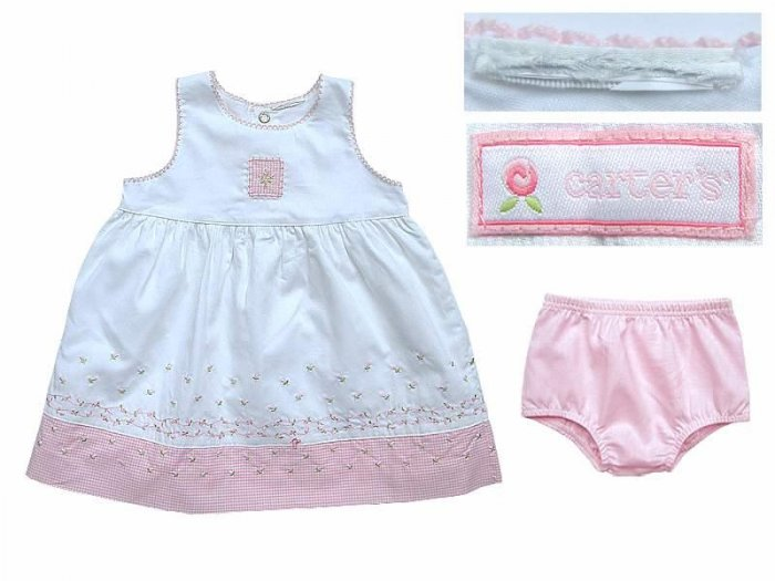 Carter's Baby Girl Floral Dress & Bloomer