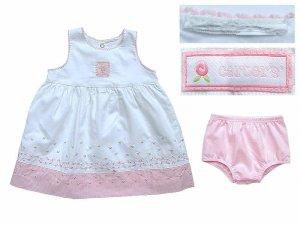 Carter's Baby Girl Floral Dress & Bloomer