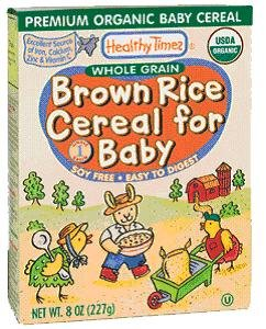 Brown Rice Cereal for Baby
