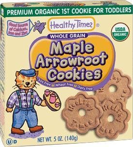 Maple Arrowroot Cookies