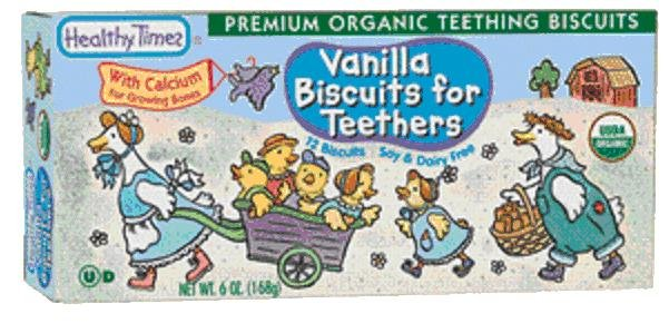 Vanilla Biscuit for Teethers