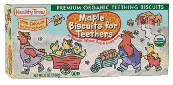 Maple Biscuits for Teethers