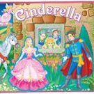 Cinderella 3D Display & Play Felt Playset