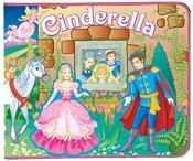 Cinderella 3D Display & Play Felt Playset