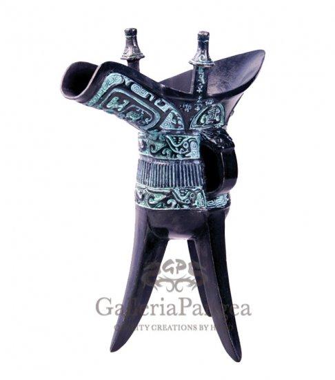 Bronze Vessel, 'Fu Xin Jue'