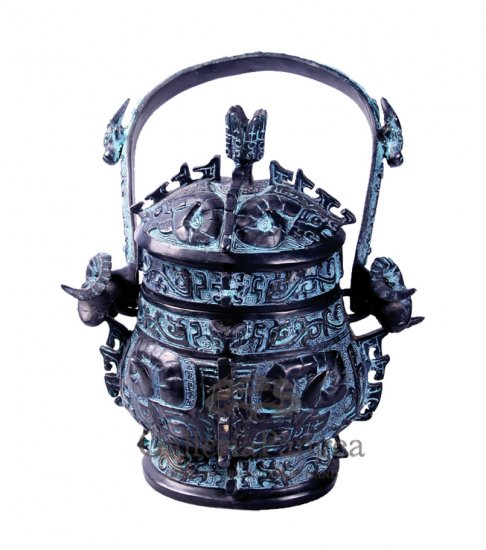 Bronze Vessel, 'Boge You'