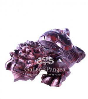 Wood Sculpture, 'Dragon Turtle'