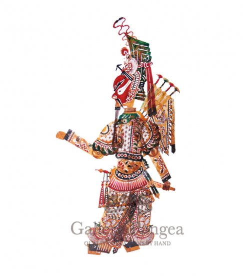 Shadow Play Puppet, 'Guan Yu'