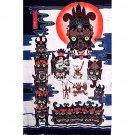 Batik Painting, 'Nuo Totem'