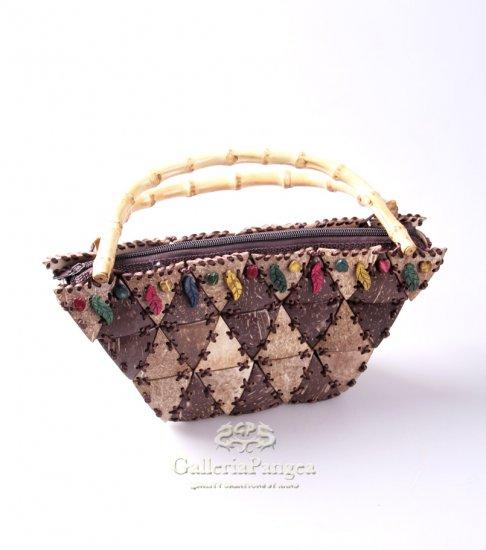 Unique Handbag, 'Coconut Triangle'
