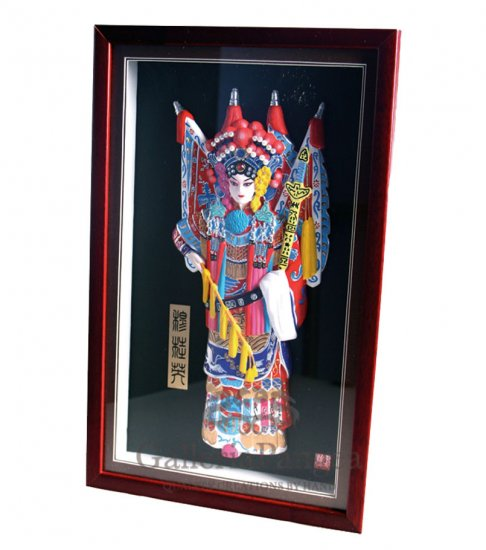 Beijing Opera Sculpture, 'Mu Guiying'