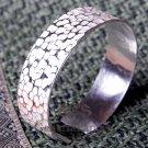 Silver Bracelet, 'Frost'