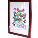 Paper Cut (framed), 'Chinese Zodiac, Dragon'
