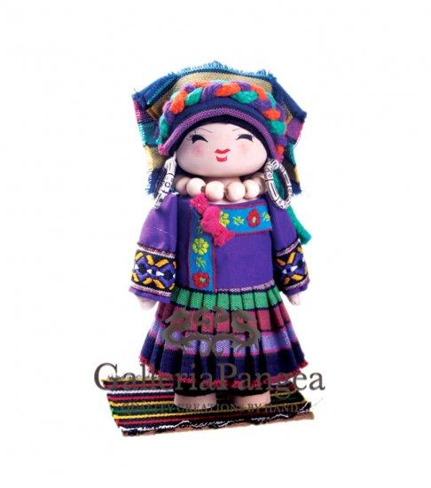 Wooden Doll, 'Buyei Girl'