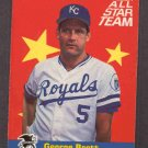 1986 Fleer All-Stars #3 GEORGE BRETT