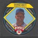 1993 King B Discs #9 GEORGE BRETT