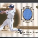 2000 Upper Deck Legends Legendary Game Jerseys #J-GB GEORGE BRETT