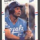 1988 Fleer Glossy #254 GEORGE BRETT