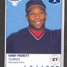 1987 Kraft Foods #27 Kirby Puckett