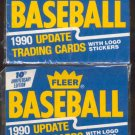 2 - 1990 Fleer Update Sealed Factory Sets