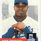 2002 Topps Heritage #445 Dee Brown SP