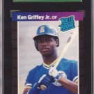 1989 Donruss #33 Ken Griffey, Jr. RC SGC Graded