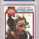 1979 Topps #450 John Stallworth Graded NM/MT 8