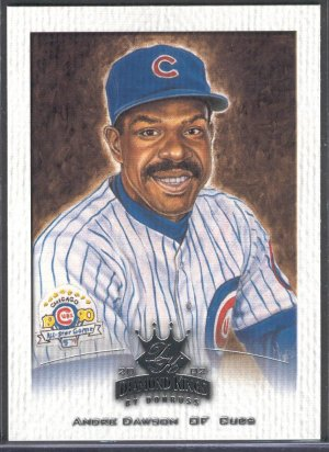 2002 Diamond Kings By Donruss SAMPLE #129 Andre Dawson Cubs