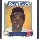1988 Starting Lineup Talking Baseball TONY GWYNN