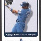 2001 Fleer Greats of Game #87 GEORGE BRETT