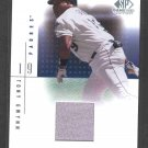 2001 SP Game-Used Edition Authentic Fabric #TGw TONY GWYNN