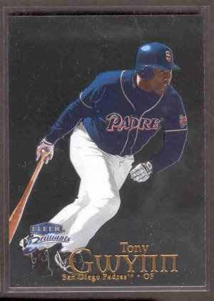 1999 Fleer Brilliants #79 TONY GWYNN