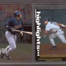 2000 Topps Chrome #459 & #468 TONY GWYNN