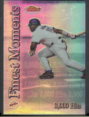 2000 Finest Moments Refractors #FM3 TONY GWYNN