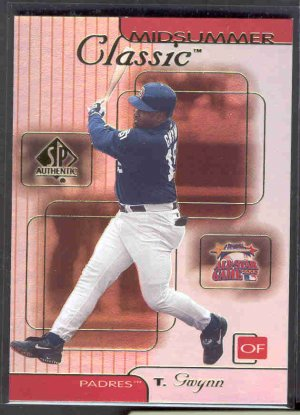 2000 SP Authentic Midsummer Classics #MC8 TONY GWYNN