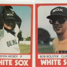 1980 Glens Falls White Sox Color TCMA #7 Kevin Hickey Minor League