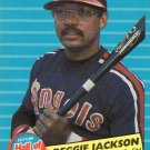 1986 Fleer Future Hall of Famers #6 Reggie Jackson
