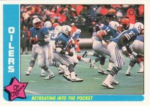 1985 Fleer Team Action #28 WARREN MOON Houston Oilers