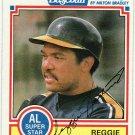 1984 Milton Bradley #14 Reggie Jackson