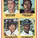 1978 Topps #704 Rookie 2nd Basemen LOU WHITAKER