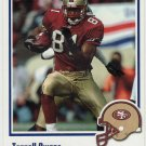 2002 Fleer Throwbacks #62 Terrell Owens