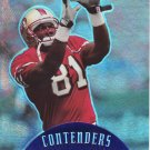 1997 Playoff Contenders Blue #124 Terrell Owens