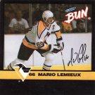 1992-93 Clark Candy Mario Lemieux #1 Mario Lemieux#{(Skating left)