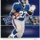 2001 Playoff Preferred SAMPLE #80 Ron Dayne New York Giants