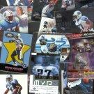 27 - Eddie George Cards Titans / Oilers